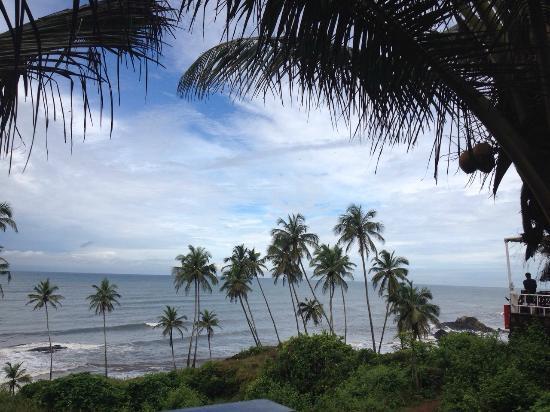 Ozran Heights Beach Resort: View from Sea Facing Room