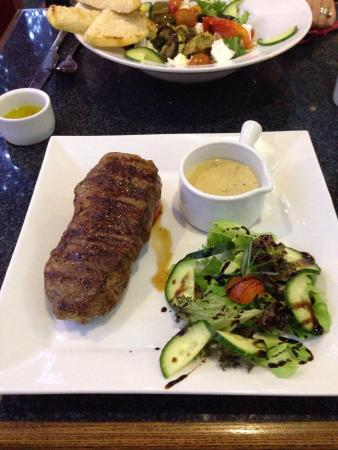 Sirloin Steak absolutely amazing, cooked to perfection, great quality meat