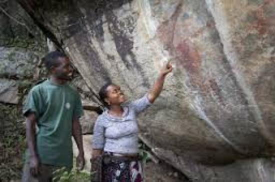 Dodoma, Tanzánia: Rock outcrops