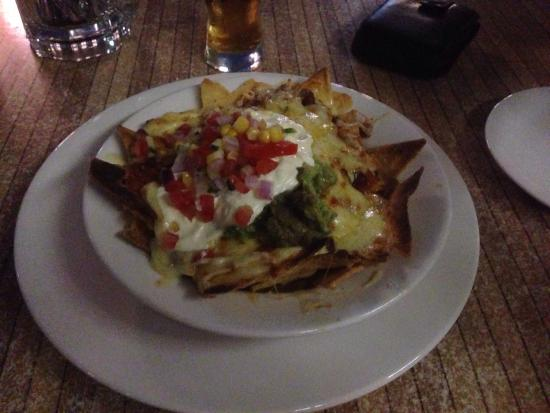 Waterfront Grill: Mexican nachos for 2