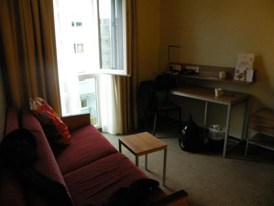 Citadines München Arnulfpark: Living room
