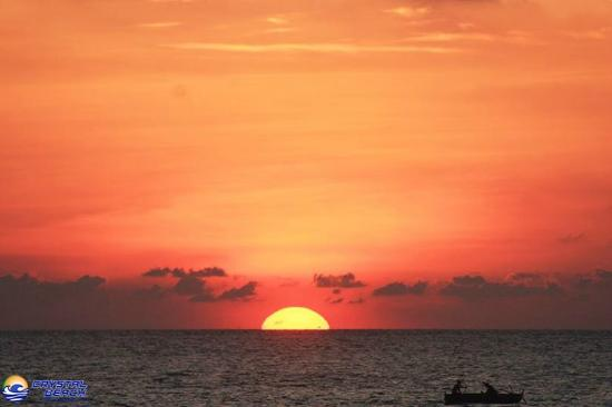 Majestic Sunset Picture Of Crystal Beach Resort San