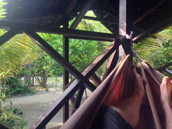 Scuba Junkie Mabul Beach Resort: Relaxing