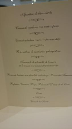 Menu de cena de nochevieja fotograf a de il gondoliere - Menu cena de nochevieja ...