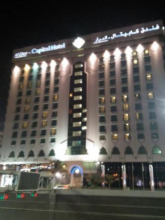 Al Diar Capital Hotel: Nice location