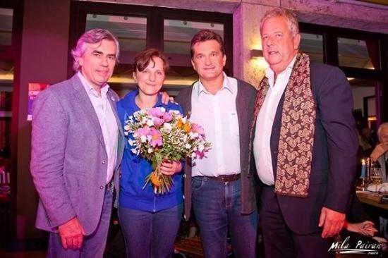 Franz Josef Restaurant: Tolle Veranstaltung zugunsten Kinder von Gestern e.V. mit dem Hauptsponsor Kristina und Mario Kl