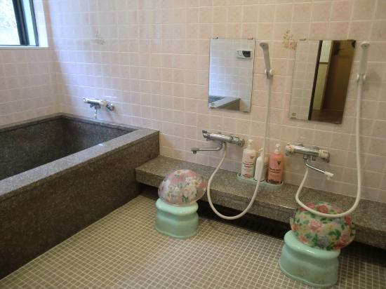 Green Lodge Mizuho: 大きいお風呂でくつろげます。