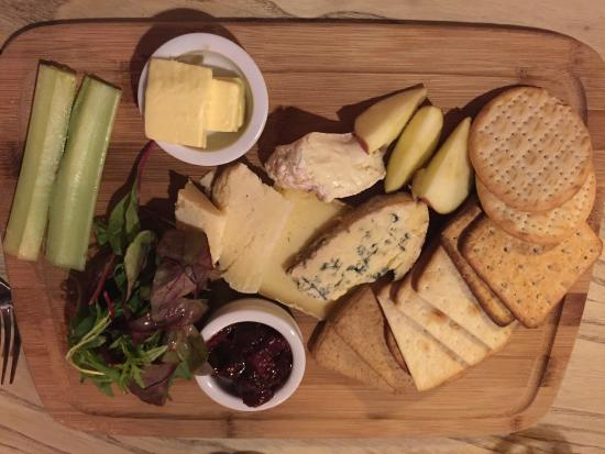 White Horse: Cheese Board