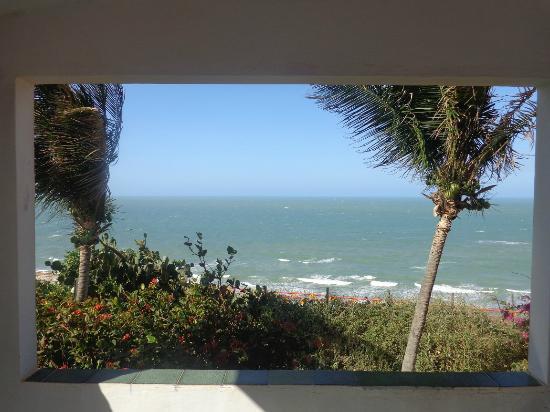 Pousada Lua Morena : Vista da praia do chalé