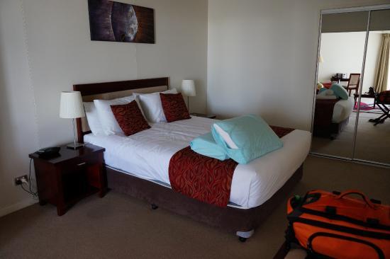 Ocean Views Resort : comfortable bed