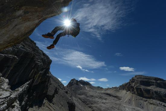 Rifugio Fanes: Klettersteig Furcia Rossa