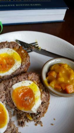 British Larder Suffolk: Venison scotch egg