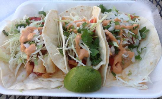 La Michoacana Grill: Shrimp Tacos