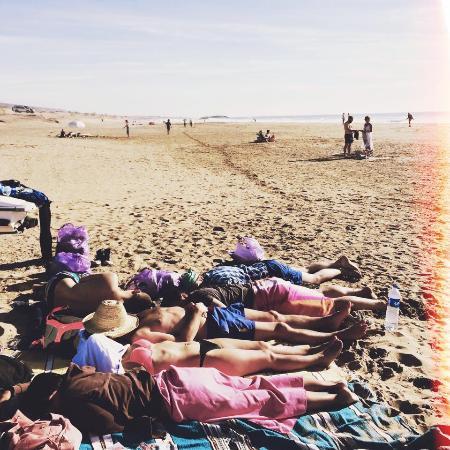Surf Town Morocco: good rest after good surf session