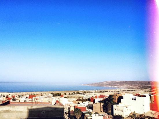 Surf Town Morocco: view from the roof