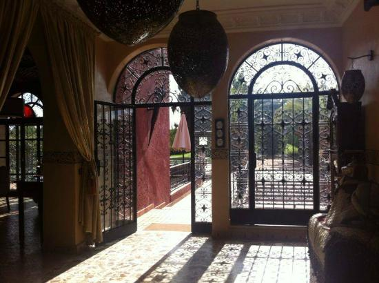 Domaine Tarik : The main Entrance