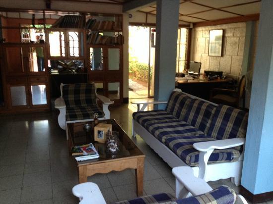 Managua Hostel Ida: lobby area