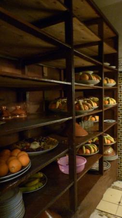 Restaurant Zitouna : bij binnenkomst kreeg je al zin.....