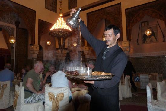 Restaurant Zitouna : hoger ging niet voor de foto.....