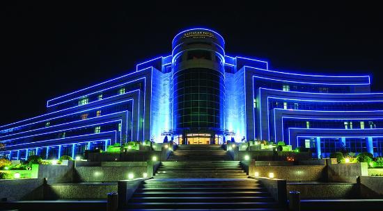 Naftalan, Azerbaijan: Hotel Faccade
