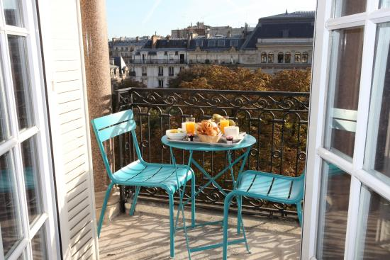 Little Palace Hotel: Balcon