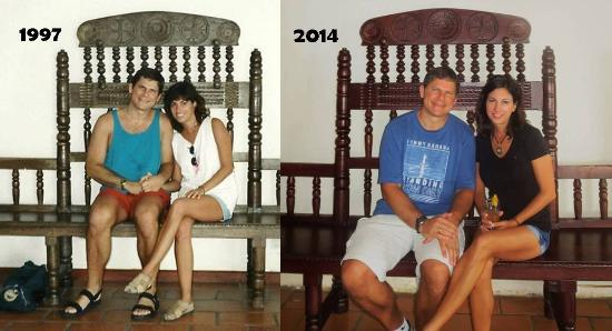 Hotel Parador: Same Chair - 1997 and now 2014