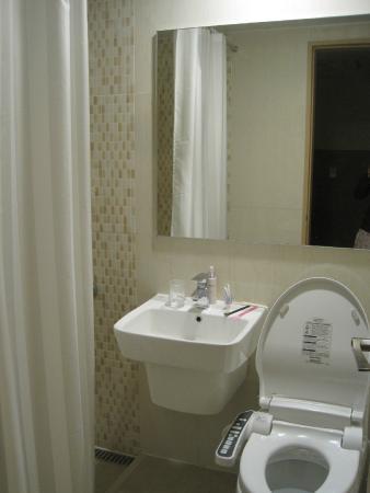 Daemyung Resort Vivaldi Park: clean bathroom