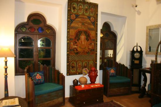 Shanti Morada: lounge