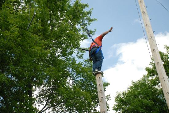 Oak Ridge Hotel and Conference Center: Ropes Course at Oak Ridge Conference Center