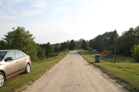 Paradis Marin : Camping en tente au mois de juin