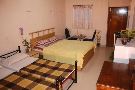 Minerva Residency Hotel : Super Deluxe Double bedroom