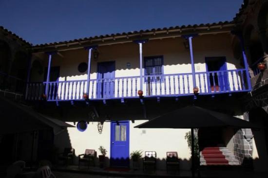Hotel Garcilaso: Le balcon sur la cour