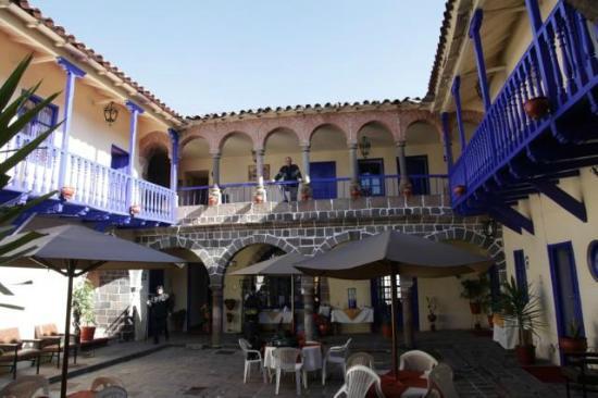Hotel Garcilaso: vue d'ensemble de l'intérieur