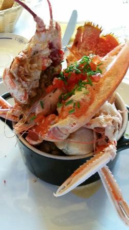 L'Amiral: La marmite avec homard bleu Un délice