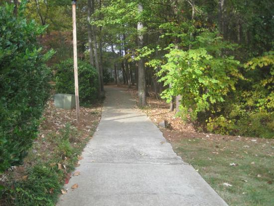 Archers Lake Pathway, Harbison Neighborhood Trails, Columbia, SC Nov ...