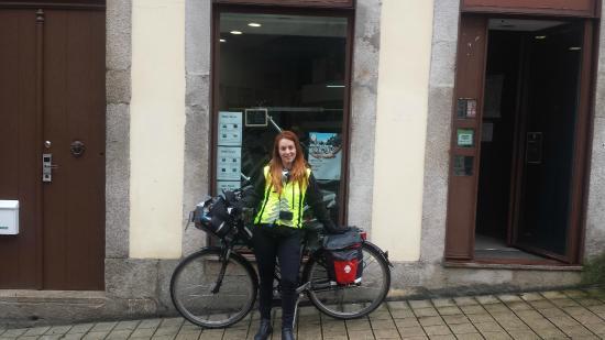 Bike tours Portugal | City Tours | Bike rental | Fold n: Saída para Santiago de Compostela