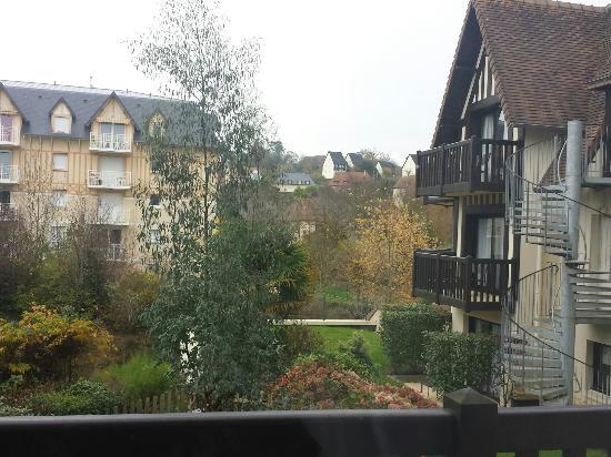 Best Western Plus Hostellerie Du Vallon : Vue de la terrasse