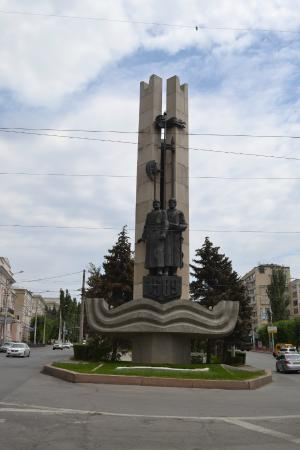 ‪Monument to the Founding Fathers of Volgograd‬