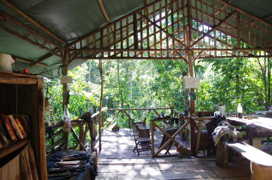 Lupa Masa Rainforest Camp: communal area