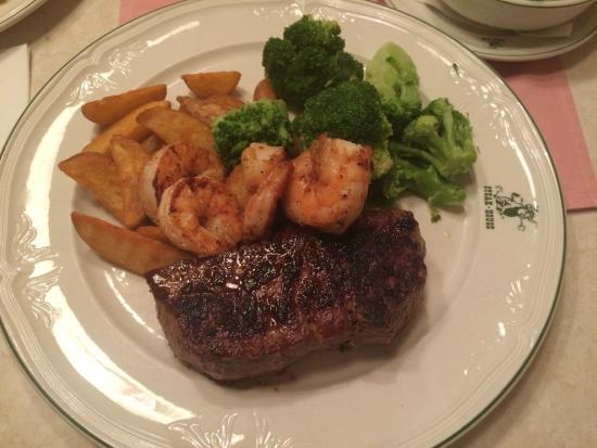 Steakhouse Parndorf : Steak & Garnelen