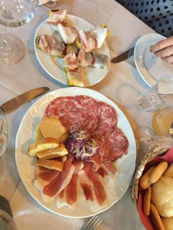 Cantina Battisti: Antipasti