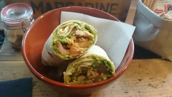 Casa Food: Wrap mit Guacamole und Hühnchen