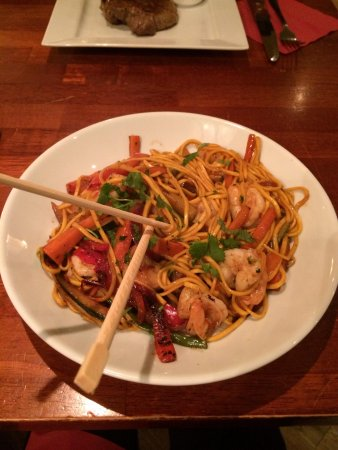 The Pepperstack: Asian Prawn and Noodles