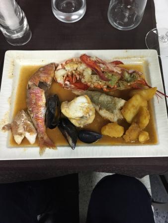 paella livrée à domicile - picture of restaurant les selves ... - Cuisine Livree A Domicile