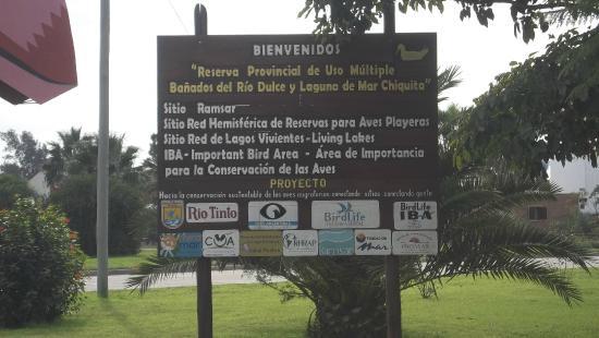 Foto de laguna mar chiquita c rdoba cartel oficina de for Cartel oficina