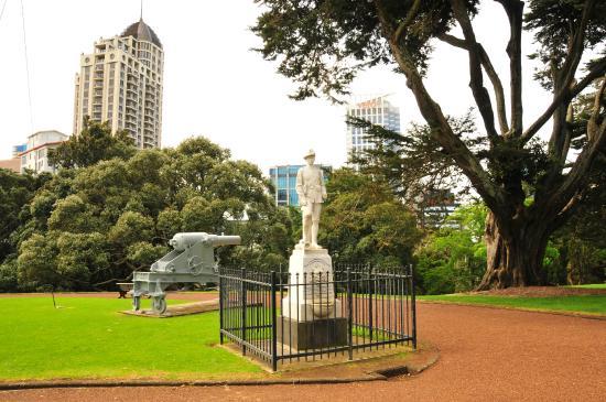 Albert-Park: Памятный монумент в честь Англо-бурских войн 1899 – 1902 годов.