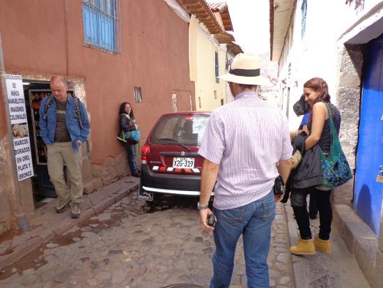 Pirwa Hostel Backpackers Familiar, San Blas: En la VIa
