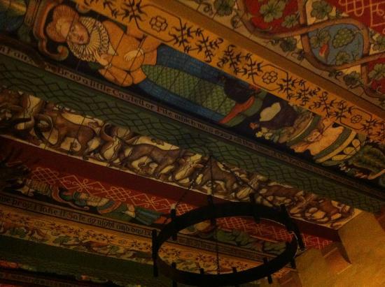 Faside Estate B&B: Decke im Rittersaal