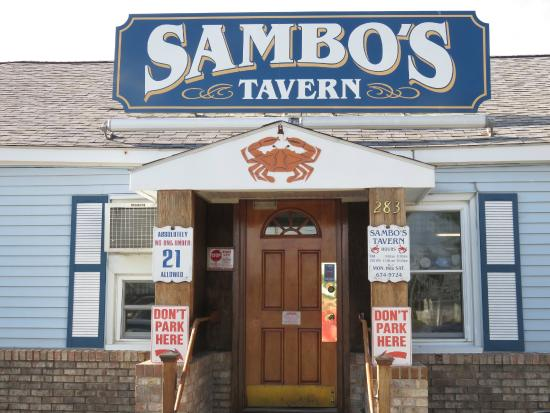 Sambo's Tavern: Entry