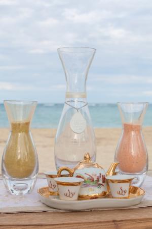 Unity Sand Vases Picture Of Kukua Beach Club Punta Cana Tripadvisor